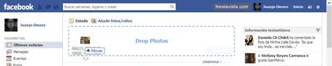 Nueva manera de agregar fotos en Facebook