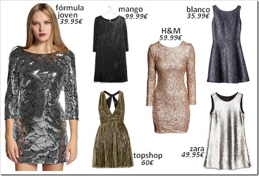 Vestidos nochevieja 2015 02 lentejuelas metalizados