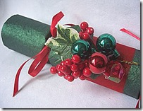 Green and Red Christmas Crackers