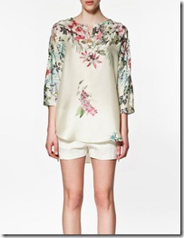 Printed silk satin tunic2