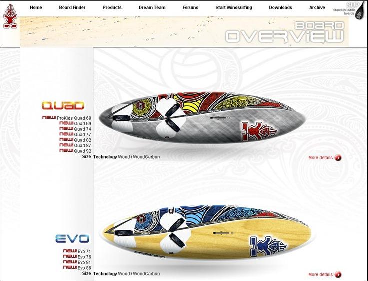 Starboard Quad & Evo 2012