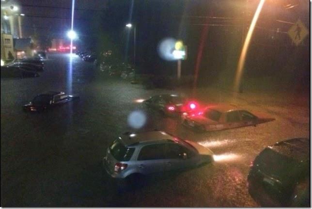 August 13 2014 Portland Flooding 2