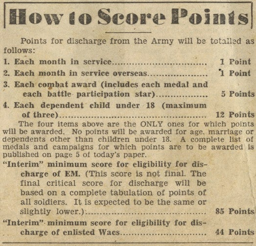 How_to_Score_Points_May _11_1945