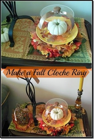 make a Fall Cloche Ring