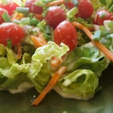 Boston Lettuce Salad With Creamy Orange Shallot Dressing