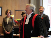 Victoria's new city councillors take the oath of office, City Hall, December 8, 2011