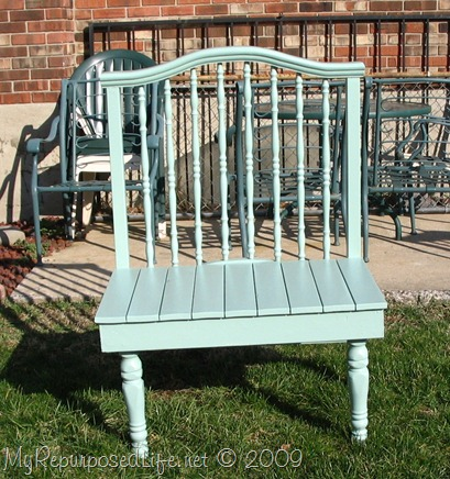 baby bed bench