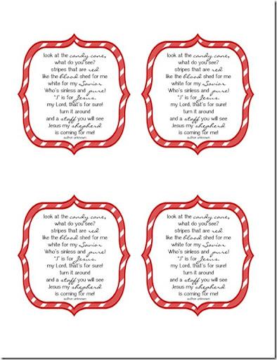 Candy Cane Jesus Poem
