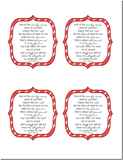 photograph about The Story of the Candy Cane Printable referred to as Delectable Invest in: Absolutely free Printable Sweet Cane Poem