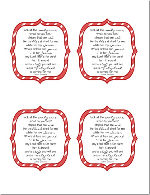 "Search Results for ""Candy Cane Meaning Printable ..."