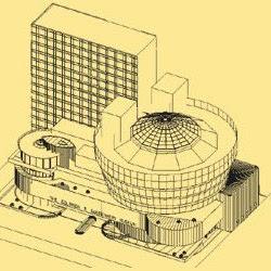 21.- F. Lloyd Wright. Museo Guggenheim. (Nueva York)