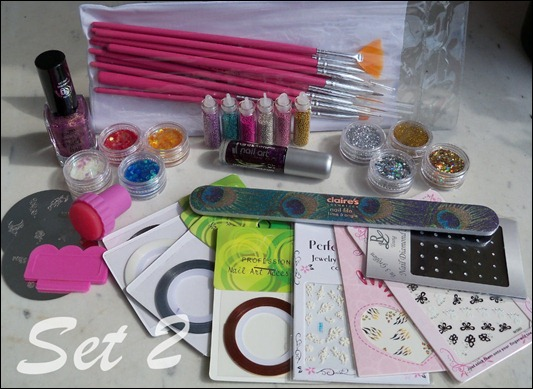 Bloggeburtstag Nailart Set