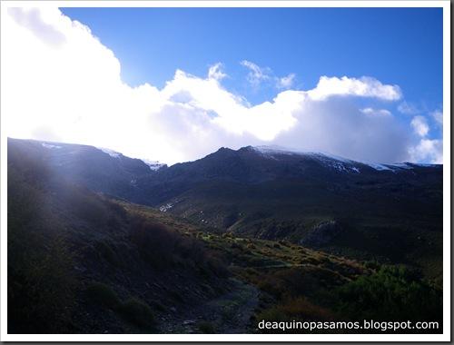 Picon de Jerez 3090m, Puntal de Juntillas y Cerro Pelao 3181m (Sierra Nevada) (Isra) 2710