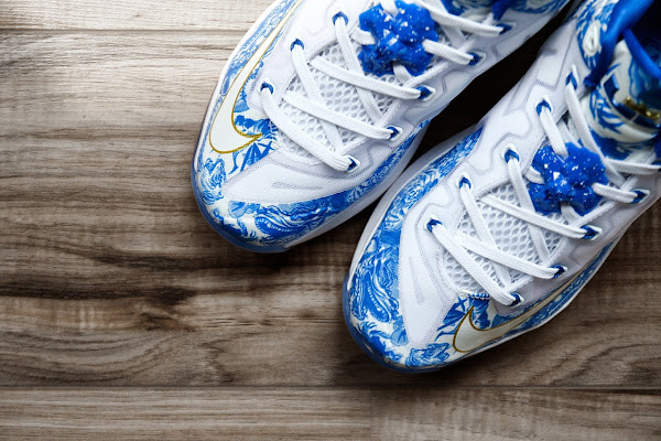 Nike LeBron 11 Max Low China Pack Blue  White