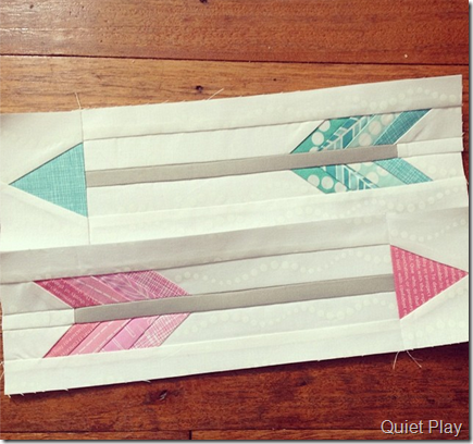 Pink and Aqua Arrows