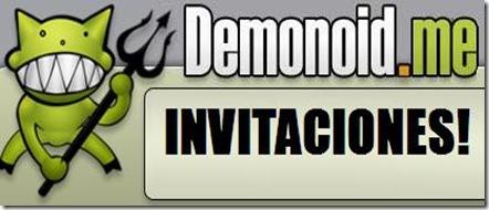 Invitaciones para demonoid.me