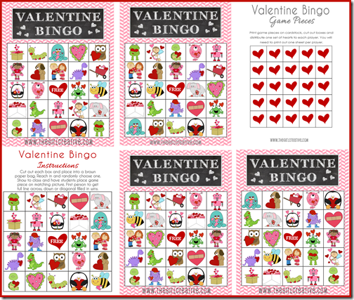 Valentine Bingo Preview1