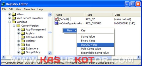 Mematikan Peringatan Low Disk Space Di Windows