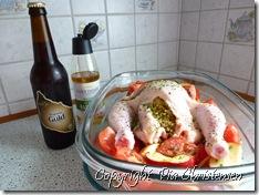 Kylling med hyldeblomstkvas