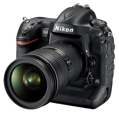 Nikon D4 DSLR cameras EISA European Professional Camera of the Year 2012 2013 Award 16-million-pixel Nikon FX-format CMOS image sensor EXPEED 3 superior image ultimate high-speed performance