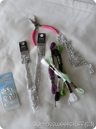 braided-chain-bracelet-supplies