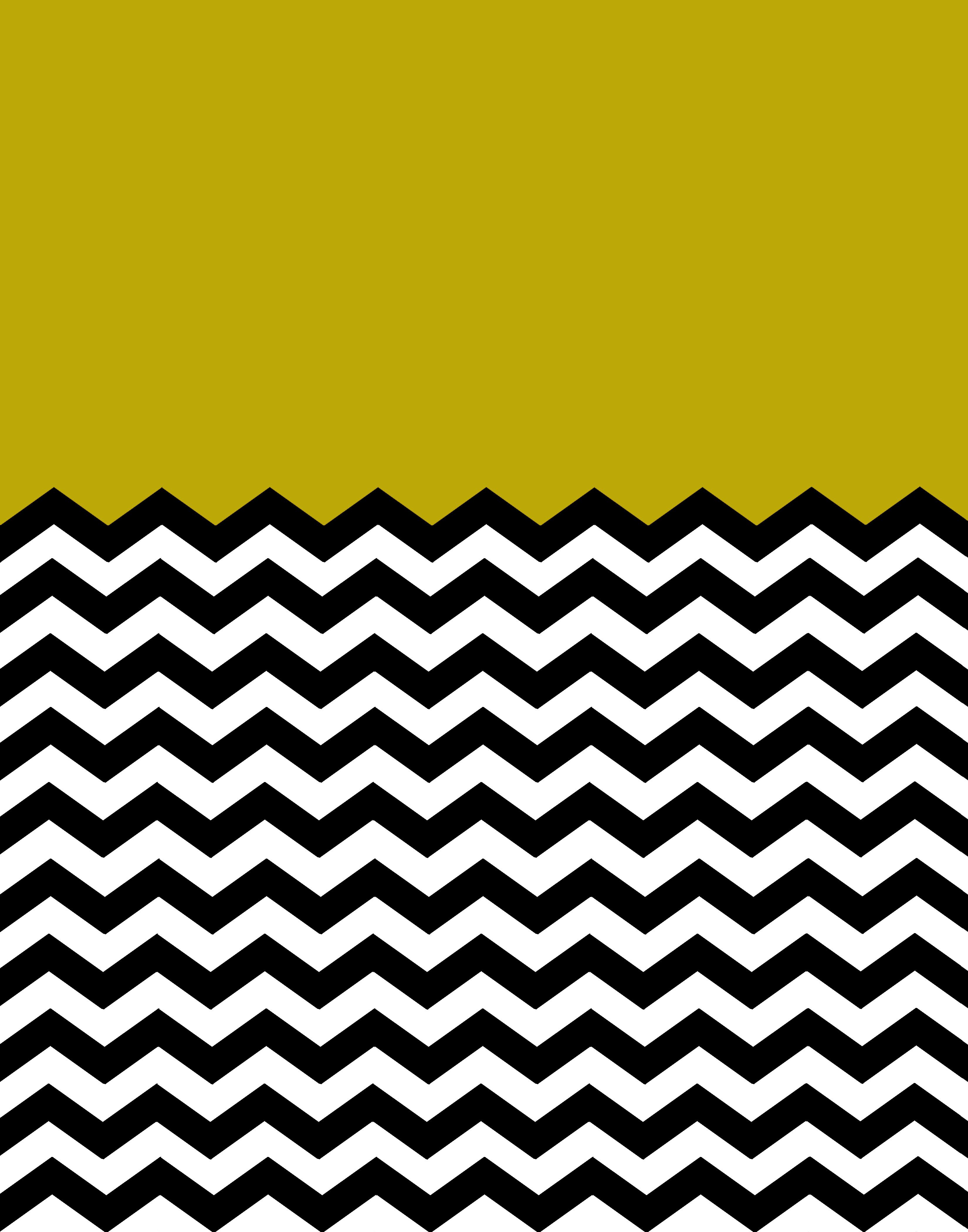 Mustard Yellow Chevron Background 2 2016