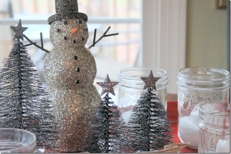 Christmas Snowman Tray 011