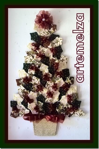 artemelza - árvore de natal em patchwork