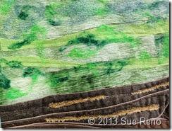 Sue Reno, In Dreams I Climbed The Cliffs, Work In Progress 3