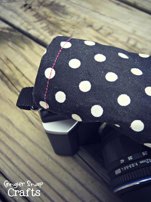 camera strap upclose