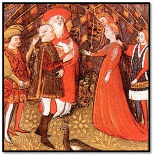 Matrimonio de Francisco Sforza con Blanca María Visconti, 1441.