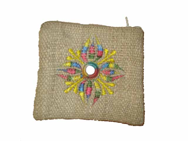 Hemp purse         