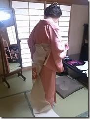 素敵な雛飾りと着物 (1)