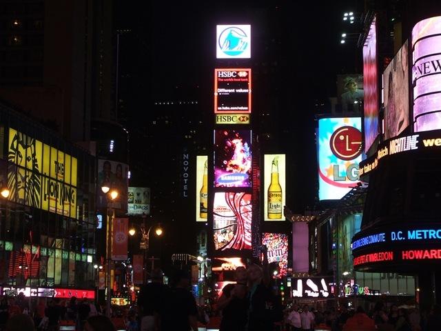Pedestrian Area, Times Square