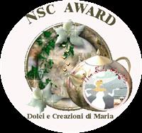 NSC Award 3 dolciecreazionidimaria