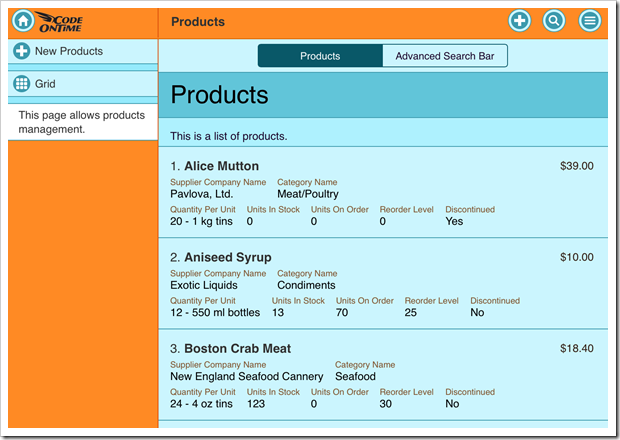 The products page is now using Plastic theme.