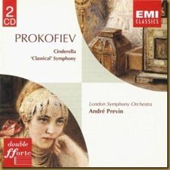 Prokofiev Sinfonía Clásica Previn LSO