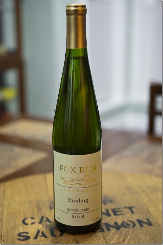 2010 Fox Run Vineyards Finger Lakes Riesling
