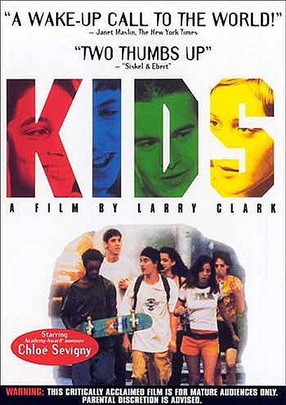 Kids - No Ano de 1995 o filme de Larry Clark  Mudou toda uma geração, algumas mães que assistiram a esse filme, proibiram os filhos de Andar de skate