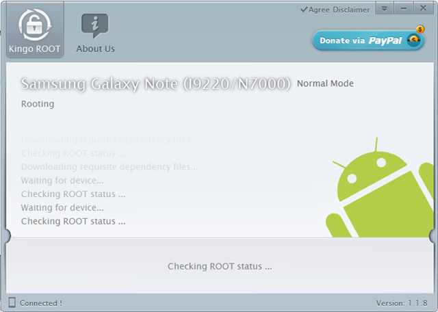 root using kingo 5