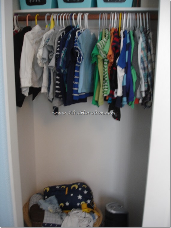 Easy Kids Closet Organization3