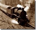 Treno in moto