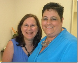 Trish Osborne and Debbie Shoemaker