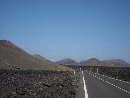 Peisaj din sudul insulei Lanzarote
