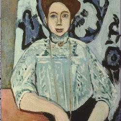 16.- Matisse. Retrato de Greta Moll