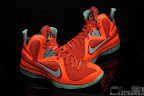 lebron9 allstar galaxy 84 web black Nike LeBron 9 All Star aka Galaxy Unreleased Sample