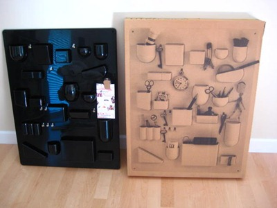 uten silo i wall organizer dorothee maurer becker design m munich west germany 1969. Black Bedroom Furniture Sets. Home Design Ideas