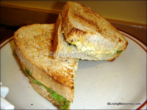 Starbucks Creamy Classic Egg on Whole Wheat Granny Loaf (P150)