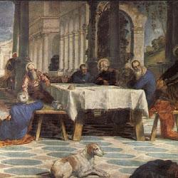 86 - Tintoretto - El lavatorio de pies