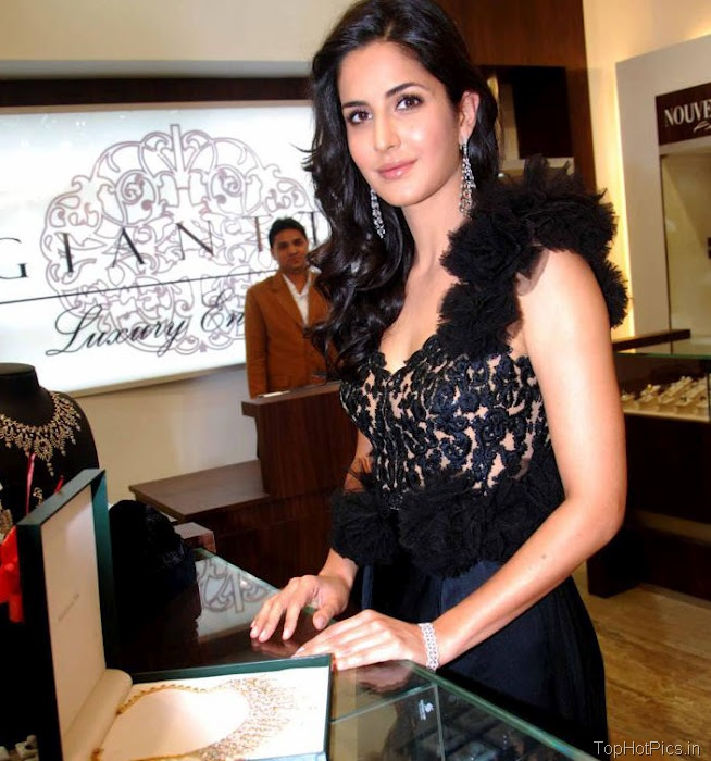 Katrina Kaif Hottest Pictures in Cute Black Dress 4